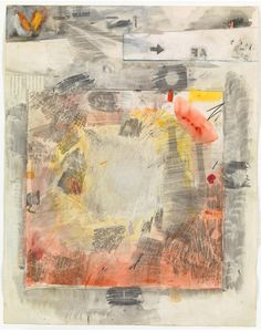 By Robert Rauschenberg, 1959-60, 'Canto VIII...Illustrations for Dante's Inferno', Transfer drawing, pencil, watercolor, gouache, and crayon.