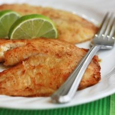 Lime and Honey Tilapia....yummy!