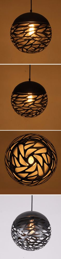 wholesale modern vintage ball hanging lamp round iron E27 E26 black lampshades for dinning restaurant, View ball hanging lamp, SIMIG Product Details from Shenzhen Simig Lighting Co., Ltd. on Alibaba.com
