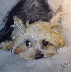 "Daily Paintworks - ""Precious"" - Original Fine Art for Sale - © Annette Balesteri"