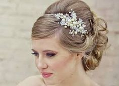 bridal hairstyles with accessories - Pesquisa Google