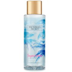 Victoria's Secret Turquoise Waves Fragrance Mist ($7) ❤ liked on Polyvore featuring beauty products, fragrance, makeup, victoria secret fragrance, victoria secret perfume, spray perfume, mist perfume and victoria's secret