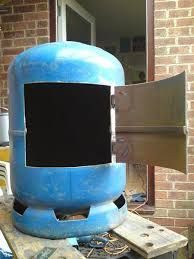 gas bottle wood burner - Google zoekenDead easy to build with minimal welding skills, all you really need is an angle grinder, a drill and a mig welder. The one I use just now ( made from a 47kg gas bottle) heats a 10 x7m shed without problem. One piece of advice though, after removing the valve fill with water to the very top and leave for a few days. It displaces any residual gas and also does much to remove the gas smell that sticks to the inside of the cylinder.