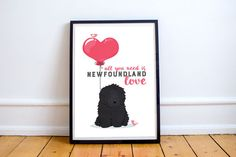 Newfoundland dog  all you need is newfoundland door joinanotherview