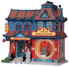 Lemax Caddington Village Chan's Chinese Antiques for our Christmas village