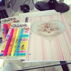 new work supplies for everyone!