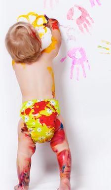 Capture and organize kids artwork
