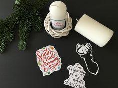 Un facilissimo tutorial per decorare le candele per il vostro Natale e per fare dei regali originali e personalizzati...usando un phon per capelli!