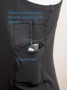 Mils Tanktop Woman. Top met zakjes speciaal voor een insulinepomp. Onzichtbaar en zonder het te voelen je insulinepomp dragen.