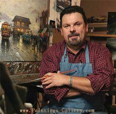 Thomas Kinkade - American painter - Paintings-Gallery.com