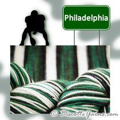 Bis-sock yarn PHILADELPHIA self-striping hand-dyed yarn – Biscotte yarns