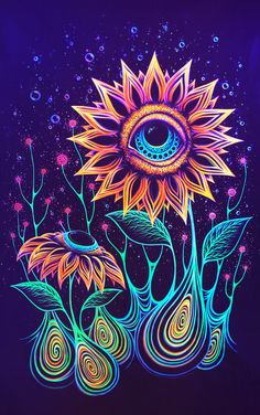Hippie pictures, trippy drawings, psychedelic drawings, art drawings, t Trippy Drawings, Psychedelic Drawings, Art Drawings, Arte Dope, Dope Art, Trippy Painting, Painting & Drawing, Hippie Painting, Image Psychedelic