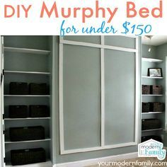 Ideal DIY wall bed for
