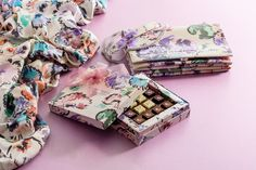 Bohemian Armani/Dolci chocolates! This sweet limited edition is wrapped in a floral print inspired by the Giorgio Armani Fall Winter 2016/17 runway collection.