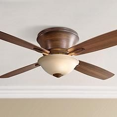 52 craftmade pro star basketball ceiling fan j2031 lamps this hugger style ceiling fan comes in a rich distressed koa finish and is completed by a tea stain glass light four reversible medium mapledark walnut mozeypictures Images