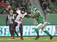 As a team that sacked the opposing quarterback just 31 times in 2017 behind both the Calgary Stampeders and Toronto Argonauts (yep, they faced each other in the Grey Cup) — the Ottawa Redblacks know they need to be better in A. Football Images, Sports Images, Ottawa Redblacks, Saskatchewan Roughriders, Canadian Football League, Calgary, A Team, Kicks, Games