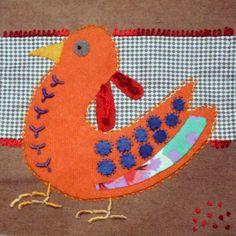 Bird dance, by Au bonheur des mains