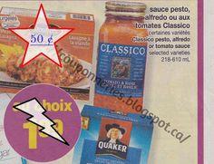 Coupons et Circulaires: 0,50$ Classico, sauce