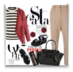 """""""Untitled #1562"""" by juyliana-vl on Polyvore featuring Brunello Cucinelli, Chanel, NARS Cosmetics and Forever 21"""