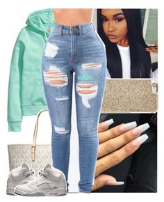 """""""hoodie weather."""" by lamamig ❤ liked on Polyvore featuring H&M, Michael Kors, MICHAEL Michael Kors and Retrò"""