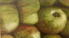 Apples. Oil on canvas