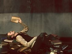 When I'm near the end of a good book I need to sleep in the same room as it!  Joan Didion