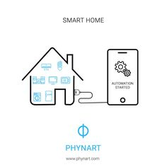 Have you ever imagined a home with automated appliances all controlled with the help of a single device? That's what Phynart is about. #AutomatedAppliances #OneButtonClick #SingleDevice