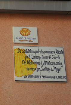 El Camino de Santiago...en Alicante