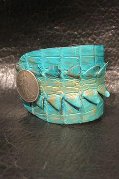 New Mexico Artist, ifania Liberty Wrist Cuffs