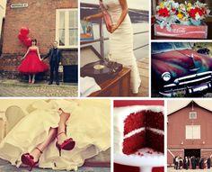 {Coca-cola classic) vintage red wedding  Keywords: #coca-colaweddings #jevelweddingplanning Follow Us: www.jevelweddingplanning.com  www.facebook.com/jevelweddingplanning/