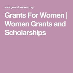 The best grants, scholarships, financial aid, and other funding options available for women and girls all around the world. Grants For College, Financial Aid For College, College Fund, College Planning, Grants For School, Online College, Nursing School Scholarships, Nursing Schools, College Life Hacks