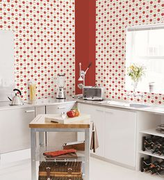 Love everything retro and vintage then you will LOVE this apple wallpaper.  #vintage #retro #50's lelandswallpaper.com