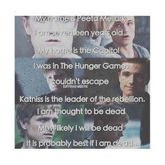 My name is Peeta Mellark...