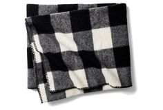 This black and white buffalo plaid is so timeless.