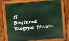 17 beginner #blogging mistakes