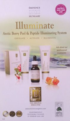 The Arctic Berry Peel & Peptide Illuminating System is coming soon to HEB Wellness Center & Spa!