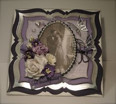 Mitt Lille Papirverksted: Bryllupskort Laget på REKORD Tid