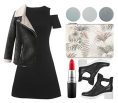 """!"" by king-alysa ❤ liked on Polyvore featuring мода, Whistles, Menu, Warehouse, Topshop и MAC Cosmetics"