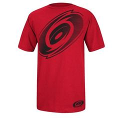 Reebok Carolina Hurricanes Streak T-Shirt - Red