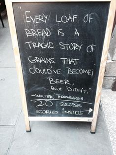 The tragic story of grains & a few successes
