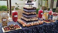 Gallery For Graduation Party Ideas Red And Black