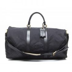 Chanel Black Canvas Leather XL Travel Bag Black Canvas, Chanel Black, Canvas  Leather, 1f7acb0d0f