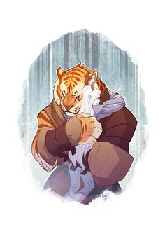 Welcome Home by hellcorpceo on deviantART - dont know what this is supposed to be from if anything buts super adorable! Character Concept, Character Art, Concept Art, Character Design, Character Illustration, Illustration Art, Illustrations, Animal Design, Furry Art