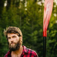 Felt like spring again today and with these longer & warmer days brings more paddling - David Postman - full thick bushy beard mustache bearded man men bearding #beardsforever