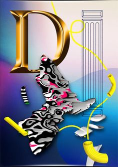 EGYD is the combination of bold graphic design and sophisticated imagery: printed and digital, still and in motion. Magdiel Lopez, Experimental Type, Type Posters, Poster Series, 3d Artist, Grafik Design, Illustrations And Posters, Pastel Goth, Graphic Design Art