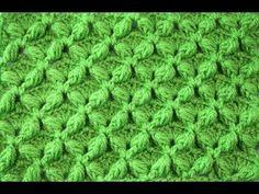 Star stitch with puff Crochet Motifs, Crochet Shawl, Crochet Stitches, Crochet Patterns, Double Crochet, Crochet Baby, Crochet Crocodile Stitch, Star Stitch, Unique Crochet