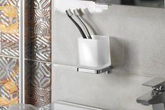 OLYMP sklenka, chrom : SAPHO E-shop Bathroom Accessories, Sink, Towel, Retro, Home Decor, Mount Olympus, Bamboo, Sink Tops, Bathroom Fixtures