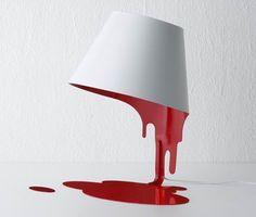 Modern Liquid Lamp by Kouichi Okamoto