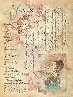 Planetary Magick   Venus Correspondences