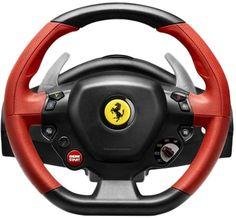 Волан с педали Thrustmaster Racing Ferrari 458 Spider - цена и характеристики | Plasico IT Superstore